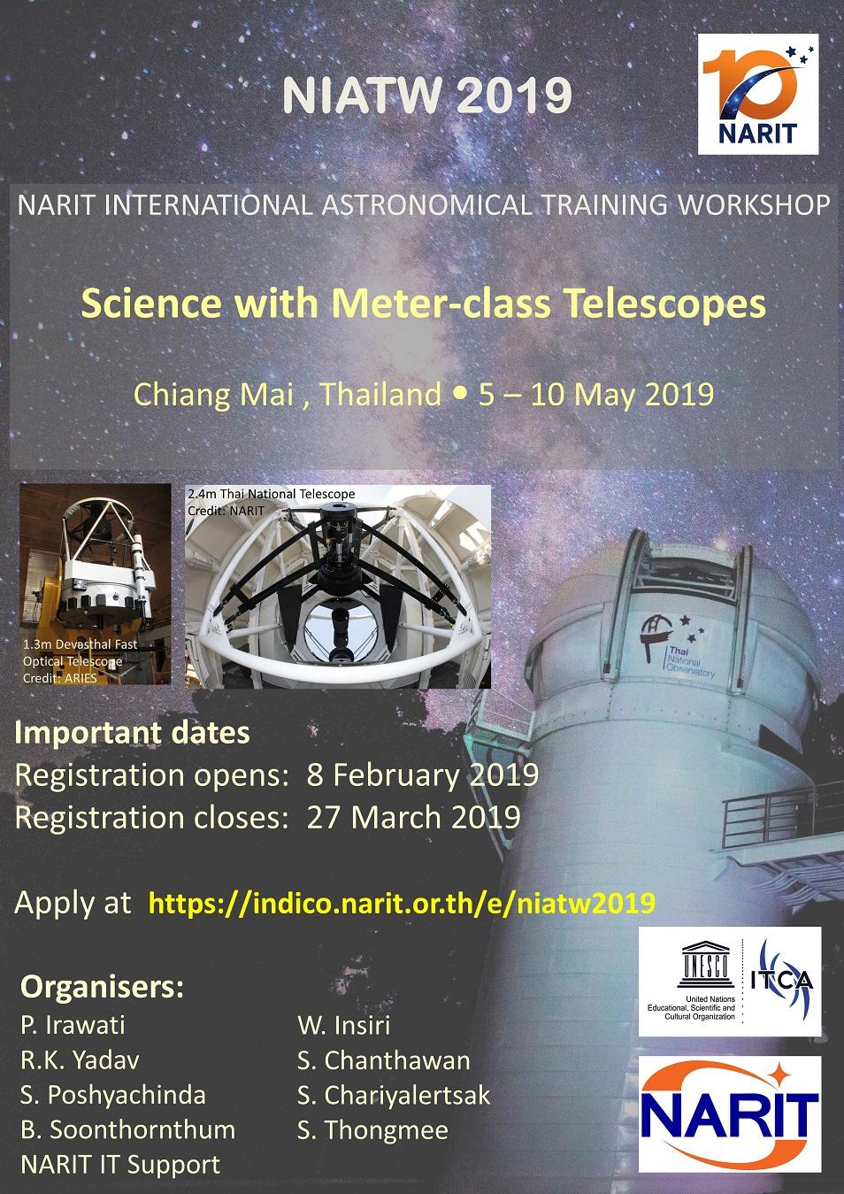 NARIT International Astronomical Training Workshop 2019 (5